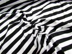 Great value Stripe Spandex- Black/White available to order online Australia