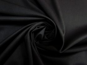 Great value Stretch Wool Suiting- Soft Black #5483 available to order online Australia