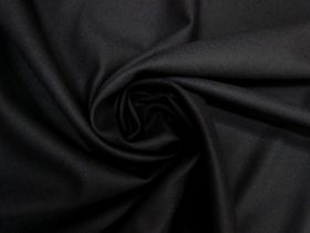 Great value Soft Wool Twill Suiting- Black #5484 available to order online Australia
