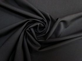 Great value Lightweight Stretch Wool Suiting- Black #5489 available to order online Australia