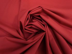 Great value Wool Blend Stretch Suiting- Red #5490 available to order online Australia