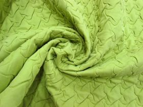 Great value Quilted Polyester- Lime Green #5492 available to order online Australia