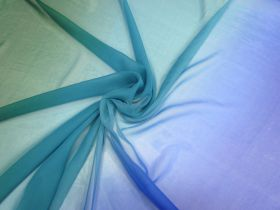 Great value Ocean Silk Ombre Georgette #5496 available to order online Australia