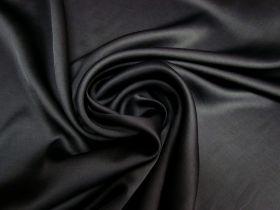 Great value Delustered Crepe Back Satin- Black #5510 available to order online Australia