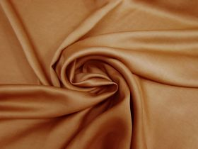 Great value Delustered Crepe Back Satin- Rust #5511 available to order online Australia