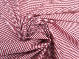 Great value Gingham Check Shirting- Barn Red #5517 available to order online Australia
