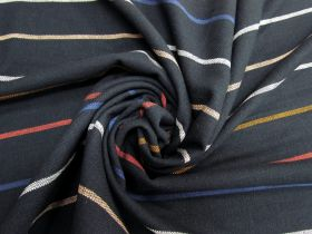 Great value Ruby Star Society- Warp Weft Heirloom Cotton- Chore Coat Stripe- Navy available to order online Australia