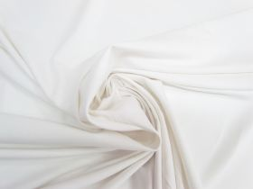 Great value Lightweight Cotton Spandex- Gentle White #5546 available to order online Australia