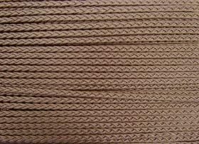 Great value 6mm Plaited Braid Trim- Medium- Bronze Beige available to order online Australia