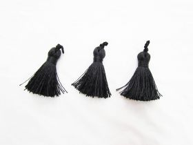 Great value Designer Tassels- Luxe Black 3 for $5 RWT02 available to order online Australia