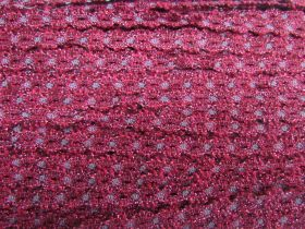 Great value Metallic Eyelet Stretch Trim- Cerise #540 available to order online Australia