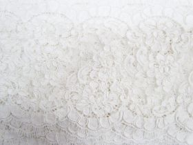 Great value 13cm Corded Chantilly Lace- Graceful White #542 available to order online Australia