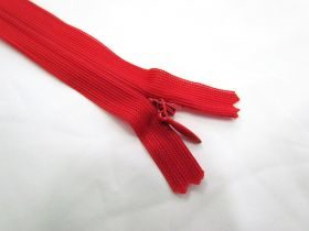 Great value Invisible Zip- Hot Red- 145 available to order online Australia