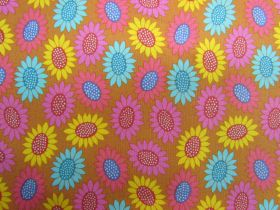 Great value Anna Maria Horner Cotton- Bright Eyes- Picky- Gold available to order online Australia