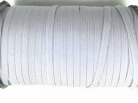 Great value Roll of 6mm Braided Elastic- Cool White #1012F available to order online Australia
