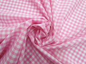 Great value 6mm Gingham Cotton- Pink #5562 available to order online Australia