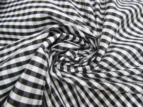 Great value 6mm Gingham Cotton- Black #5564 available to order online Australia