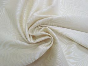 Great value Fierce Stripes Stretch Jacquard- Cream #4198 available to order online Australia