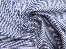 Great value 3mm Gingham Cotton- Royal Blue #5571 available to order online Australia
