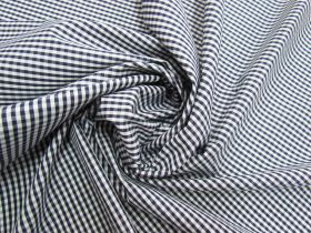 Great value 3mm Gingham Cotton- Navy #5573 available to order online Australia