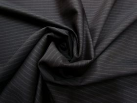 Great value Inky Stripe Lightweight Wool Suiting #5586 available to order online Australia