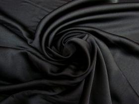 Great value Satin Back Crepe- Obsidian Black #5585 available to order online Australia