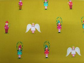 Great value Alison Glass- Holiday- Chorus in Chartreuse available to order online Australia