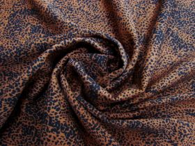 Great value Savage Spot Tencel Twill- Urban Rust #5595 available to order online Australia