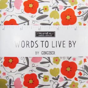 Great value Words To Live By Charm Pack available to order online Australia