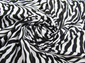 Great value Animal Print Lycra- Zebra (Shiny) available to order online Australia