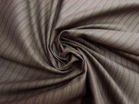 Great value Herringbone Milk Chocolate Stripe Suiting #5611 available to order online Australia