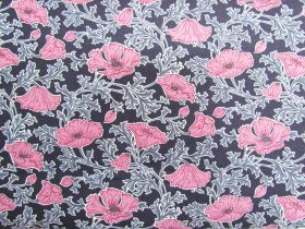 Great value Liberty Cotton- Beatrice Poppy- Pink- The Winterbourne Collection available to order online Australia