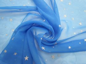 Great value Super Star Chiffon- Bright Blue #5659 available to order online Australia