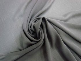 Great value Stretch Silk Georgette- Ash Grey #5665 available to order online Australia