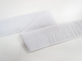Great value 50mm Ribbed Elastic- White available to order online Australia