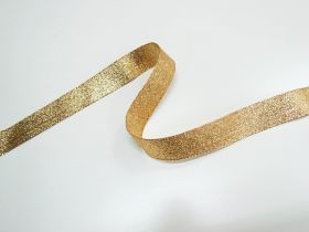 Great value 25mm Stellar Metallic Ribbon- Antique Gold available to order online Australia