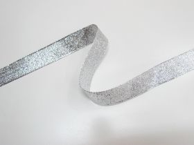 Great value 25mm Stellar Metallic Ribbon- Silver available to order online Australia