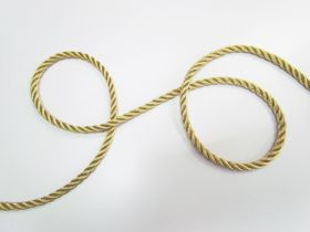 Great value 8mm Twisted Metallic Cord- Gold available to order online Australia