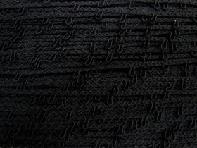 Great value 9mm Button Loop Trim- Black #558 available to order online Australia