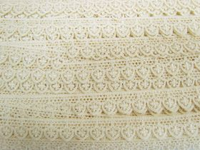 Great value 20mm Regal Lace Trim- Cream #554 available to order online Australia