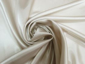 Great value Charmeuse Satin- Silver Beige #5717 available to order online Australia