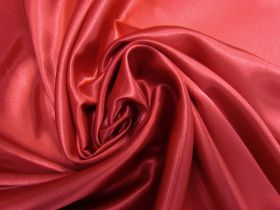 Great value Charmeuse Satin- Ruby Red #5723 available to order online Australia