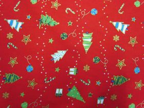 Great value Festive Cheer Cotton- Red #5725 available to order online Australia