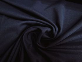 Great value Cotton Blend Pique Knit- Royal Navy #5745 available to order online Australia