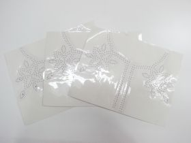 Great value Studded Embellishment Motif Bundle- Neckline- 3 for $5 available to order online Australia