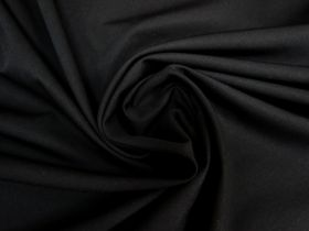 Great value Wool Cotton Twill Suiting- Black #5763 available to order online Australia