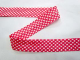 Great value A Day In The Country Bias- Medium Check- Coral Pink available to order online Australia