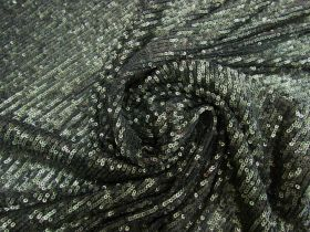 Great value ONE OFF 1-Way stretch Sequin Mesh- 1.5m Piece CL1030 available to order online Australia