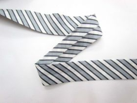 Great value A Day In The Country Bias- Ticking Stripe- Grey available to order online Australia