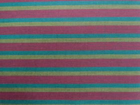 Great value Lanna Woven Cotton- Night Thinker Shot Stripe available to order online Australia